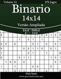 Binario 14x14 Versao Ampliada - Facil Ao Dificil - Volume 11 - 276 Jogos