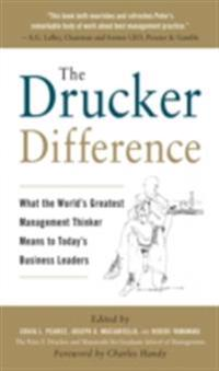 Drucker Difference: What the World's Greatest Management Thinker Means to Today's Business Leaders