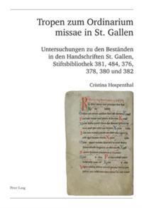 Tropen zum Ordinarium missae in St. Gallen