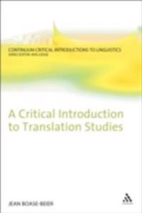 Critical Introduction to Translation Studies