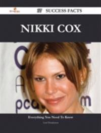 Nikki Cox 37 Success Facts - Everything you need to know about Nikki Cox