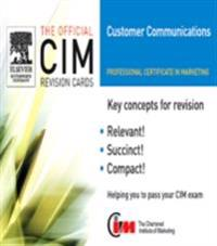 CIM Revision Cards: Customer Communications in Marketing 05/06