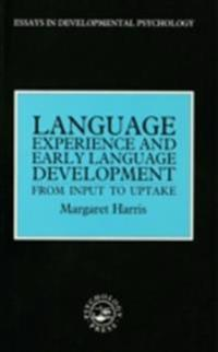 Language Experience and Early Language Development