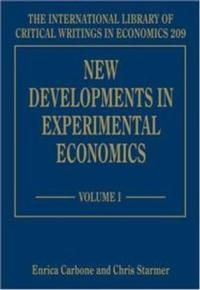New Developments in Experimental Economics