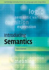Introducing semantics