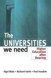 Universities We Need