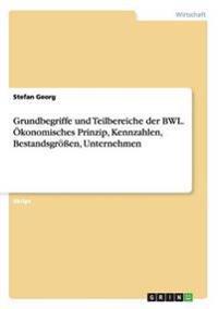 Grundbegriffe Und Teilbereiche Der Bwl. Okonomisches Prinzip, Kennzahlen, Bestandsgroen, Unternehmen