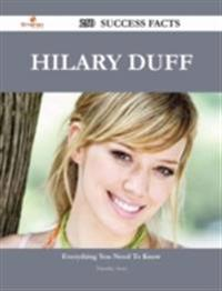 Hilary Duff 250 Success Facts - Everything you need to know about Hilary Duff