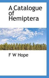 A Catalogue of Hemiptera