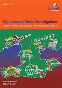 Open-ended maths investigations, 7-9 year olds - maths problem-solving stra