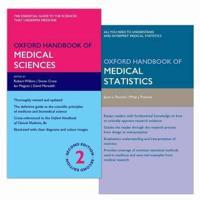 Oxford Handbook of Medical Science + Oxford Handbook of Medical Statistics, 2nd Ed.