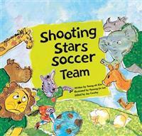 Shooting stars soccer team - teamwork