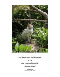 Miaoume, une chatte, et son chaton Cannelle
