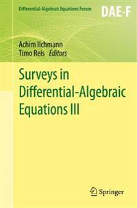 Surveys in Differential-algebraic Equations