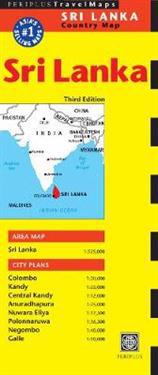 Periplus Travel Maps Country Map Sri Lanka