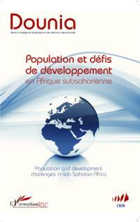 Population et defis de developpement en Afrique subsaharienn