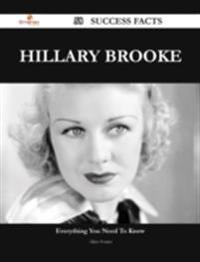 Hillary Brooke 58 Success Facts - Everything you need to know about Hillary Brooke