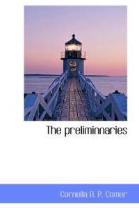 The Preliminnaries