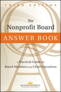 Nonprofit Board Answer Book