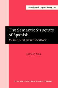 Semantic Structure of Spanish