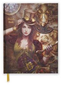 Steampunk Blank Sketch Book