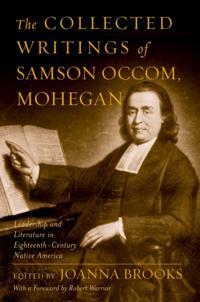 Collected Writings of Samson Occom, Mohegan