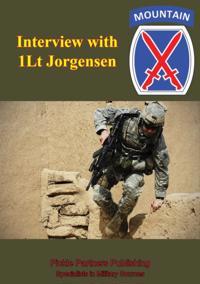 Interview With 1LT Jorgensen