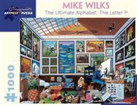 Mike Wilks the Ultimate Alphabet the Letter P 1000-Piece Jigsaw Puzzle  Aa897