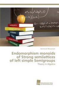 Endomorphism Monoids of Strong Semilattices of Left Simple Semigroups