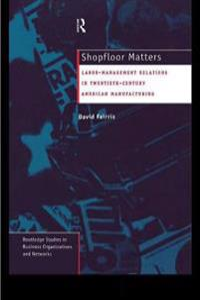 Shopfloor Matters