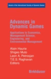Advances in Dynamic Games