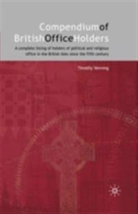 Compendium of British Office Holders