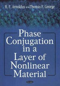 Phase Conjugation in a Layer on Nonlinear Material