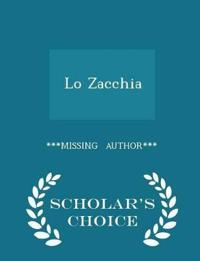 Lo Zacchia - Scholar's Choice Edition