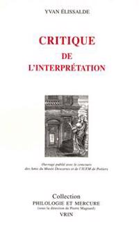 Critique de L'Interpretation