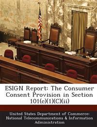 Esign Report