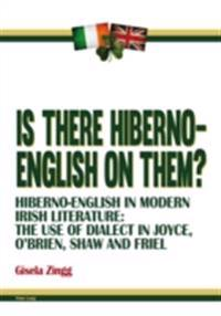 Is there Hiberno-English on them?