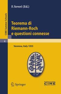 Teorema di RiemannRoch e questioni connesse