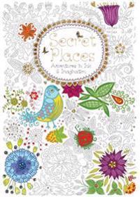 Secret Places (Colouring Book)