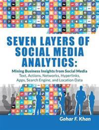 Seven Layers of Social Media Analytics: Mining Business Insights from Social Media Text, Actions, Networks, Hyperlinks, Apps, Search Engine, and Locat