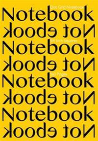 Dot Grid Notebook 1/4 Inch Squares 160 Pages: Notebook Not eBook with Yellow Cover, 7x10 1/4 Inch Dot Grid Graph Paper, Perfect Bound, Ideal for Struc
