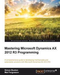 Microsoft Dynamics Ax 2012 R3 Programming