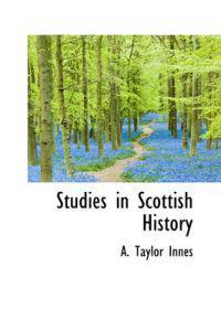 Studies in Scottish History