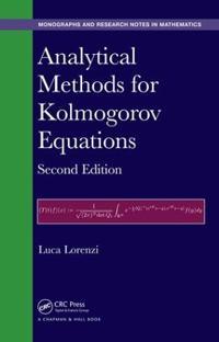 Analytical Methods for Kolmogorov Equations