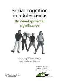 Social Cognition in Adolescence