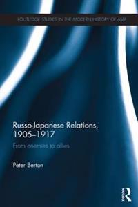 Russo-Japanese Relations, 1905-17