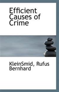 Efficient Causes of Crime