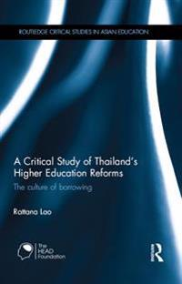 Critical Study of Thailand's Higher Education Reforms