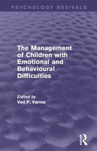 Management of Children with Emotional and Behavioural Difficulties