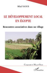 Le developpement local en egypte - rencontres associatives d